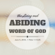 The Living and Abiding Word of God