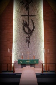 Trinity Lutheran Church and School Altar and Reredos